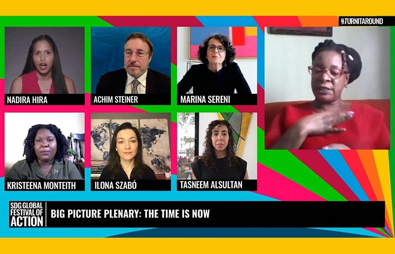 Screenshot of the Big Picture Plenary: the time is now